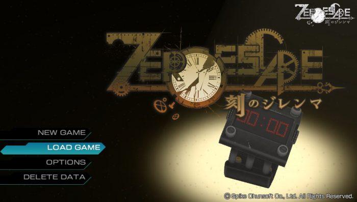 ZERO ESCAPE 刻のジレンマ - ゲームカタログ ...